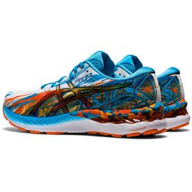 asics Gel-Nimbus 23 Shoes Men, digital aqua/marigold orange